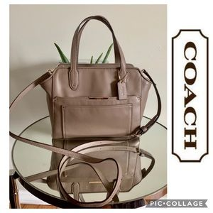 COACH Bag Crossbody Taylor Bette Tote Taupe purse